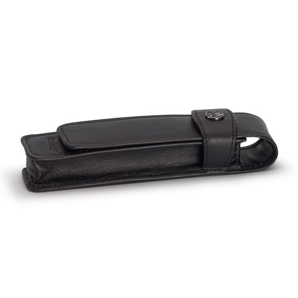 【お取り寄せ】カヴェコ(KAEWCO)ロングタイプ 1本用 革ケース 黒 CASEL-1-L