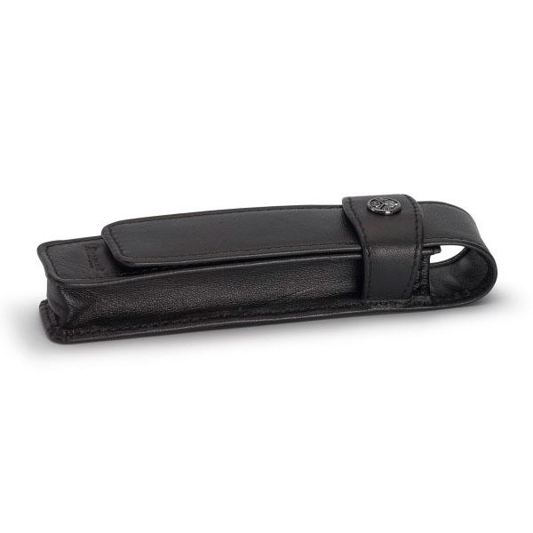 【お取り寄せ】カヴェコ(KAEWCO)ロングタイプ 1本用 革ケース 黒 CASEL-1 メール便可