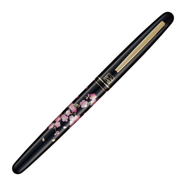 【お取り寄せ】くれ竹(Kuretake)  蒔絵物語 桜春風 万年毛筆 DU185-315