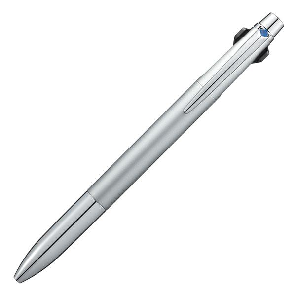 【即納可能】三菱鉛筆(UNI) ジェットストリーム プライム シルバー 0.7mm 3色ボールペン SXE3300007.26 メール便可