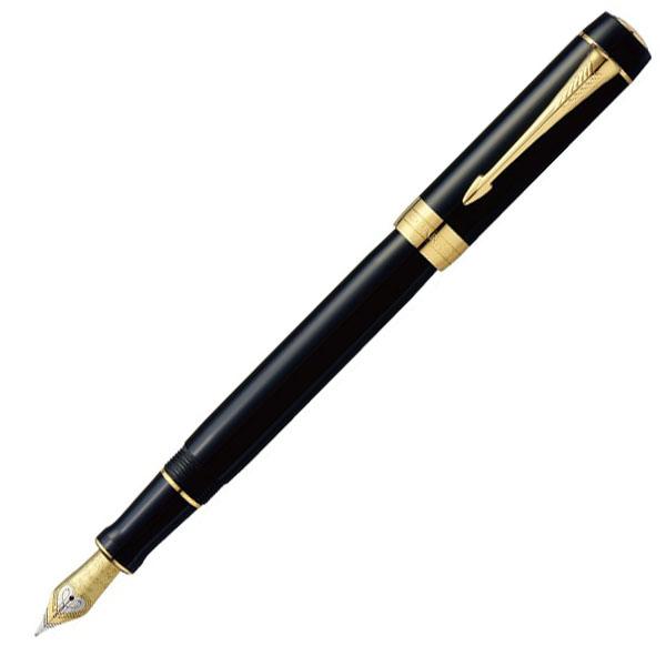 【お取り寄せ】パーカー(PARKER) デュオフォールド クラシック ブラックGT センテニアル 万年筆