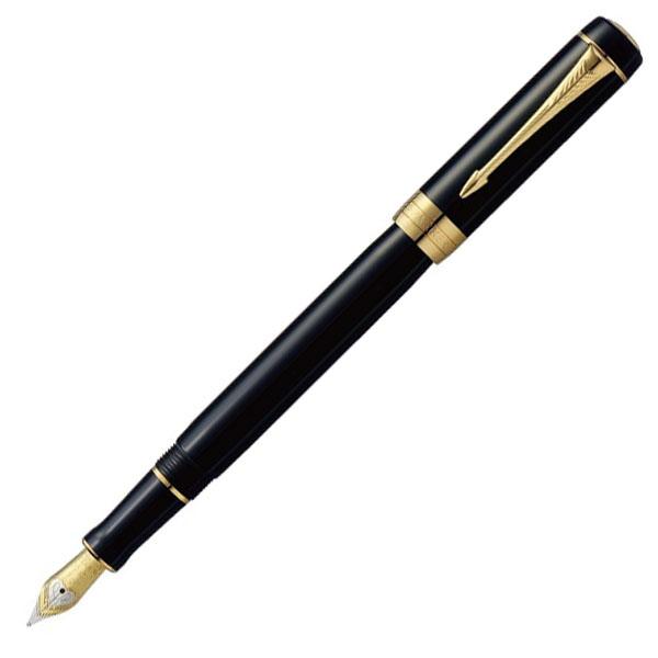 【お取り寄せ】パーカー(PARKER) デュオフォールド クラシック ブラックGT インターナショナル 万年筆