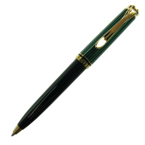 【お取り寄せ】ペリカン(Pelikan)スーベレーン K300 グリーン縞 ボールペン K300