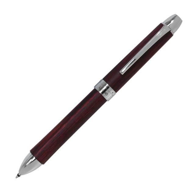 【即納可能】パイロット(PILOT)  3色ボールペン レグノ ディープレッド 多機能ペン BKTL-3SK-DR メール便可