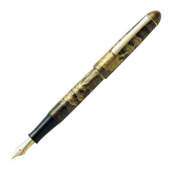 【お取り寄せ】プラチナ萬年筆(PLATINUM) #3776 最高級加賀蒔絵 宗香 #55 ハママツ PTB-500000 万年筆