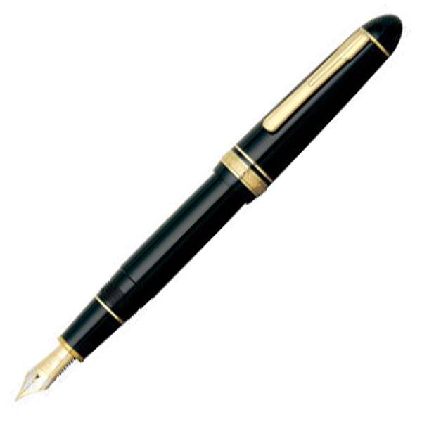 【お取り寄せ】プラチナ萬年筆(PLATINUM) プレジデント #1 ブラック PTB-20000P 万年筆