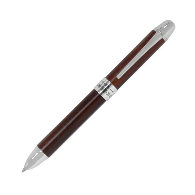 【即納可能】プラチナ萬年筆(PLATINUM)  ダブルアクションR3 木製コーディア #62 ブラウン MWB-3000RW 多機能ペン 2769620