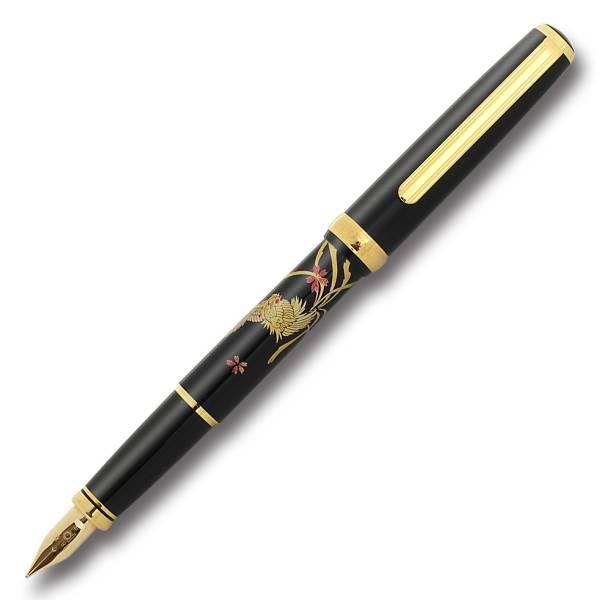【即納可能】プラチナ萬年筆(PLATINUM)  美巧 近代蒔絵 PTL-18000M #17 ホウオウ 万年筆