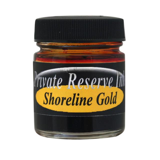 【即納可能】プライベートリザーブインク(Private Reserve Ink) ボトルインク ショアラインゴールド Shoreline Gold