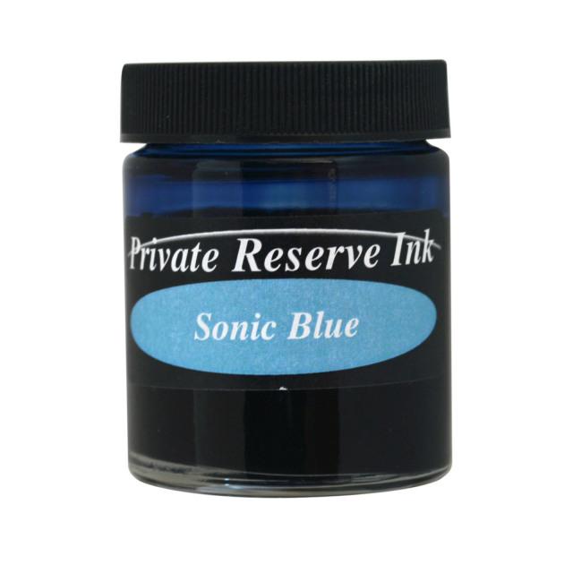 【即納可能】プライベートリザーブインク(Private Reserve Ink) ボトルインク ソニックブルー Sonic Blue