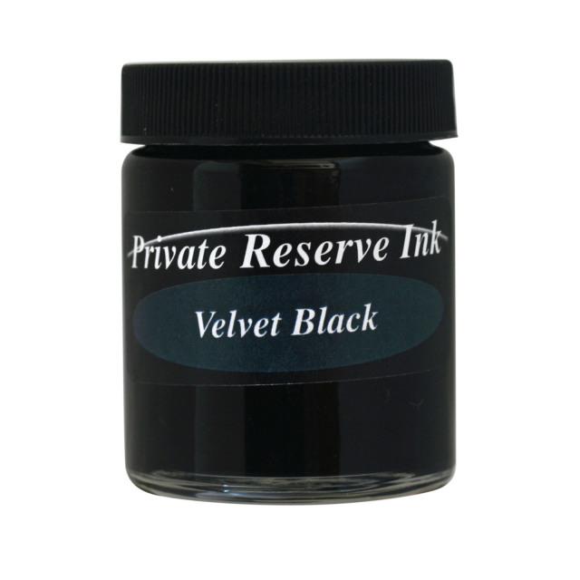 【即納可能】プライベートリザーブインク(Private Reserve Ink) ボトルインク ベルベットブラック Velvet Black