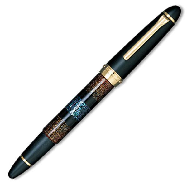 【お取り寄せ】セーラー(SAILOR) 功修漆芸 ラデン 長刀研ぎ 万年筆