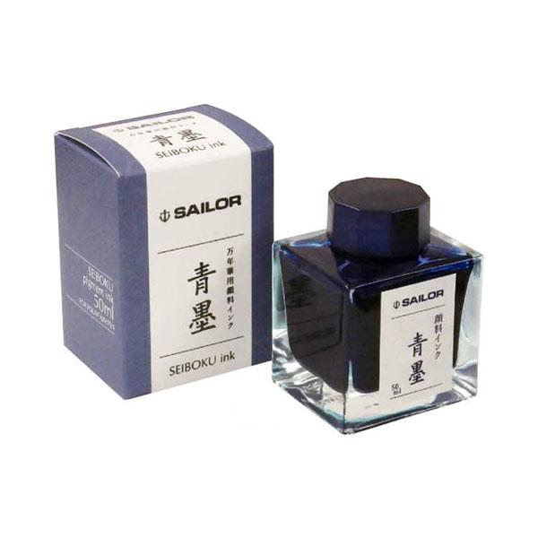 【お取り寄せ】セーラー(SAILOR) ボトルインク 青墨 132002242