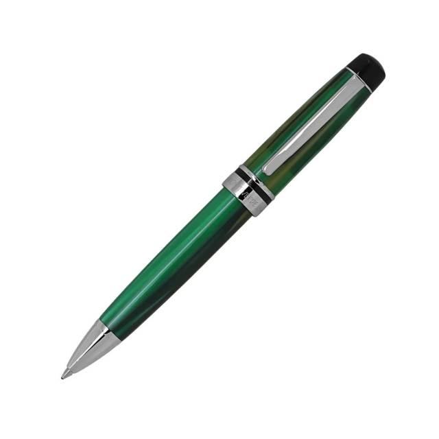 【即納可能】モンテベルデ(Monnteberude) プリマ グリーンストライプ ボールペン 1919410