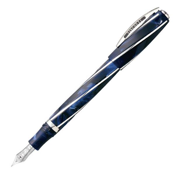 【お取り寄せ】ビスコンティ(VISCONTI)ディヴィーナ インペリアルブルー オーバーサイズ 万年筆
