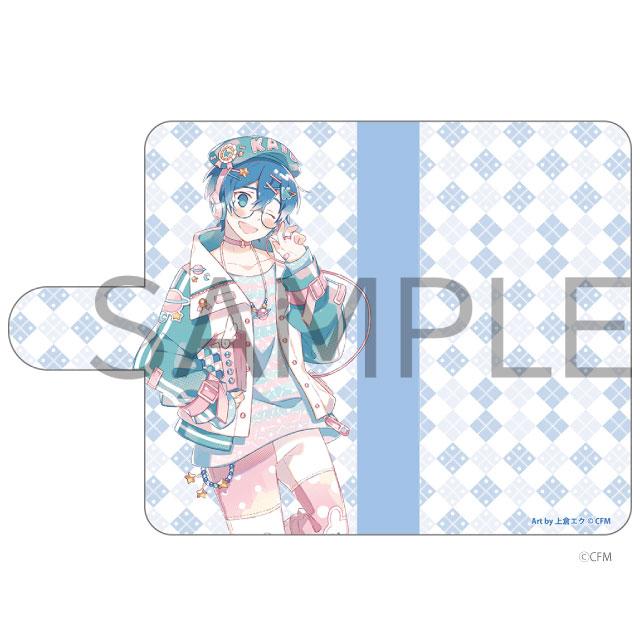 HATSUNE MIKU Digital Stars 2021 Animax Cafe+ 手帳型汎用スマホケース KAITO