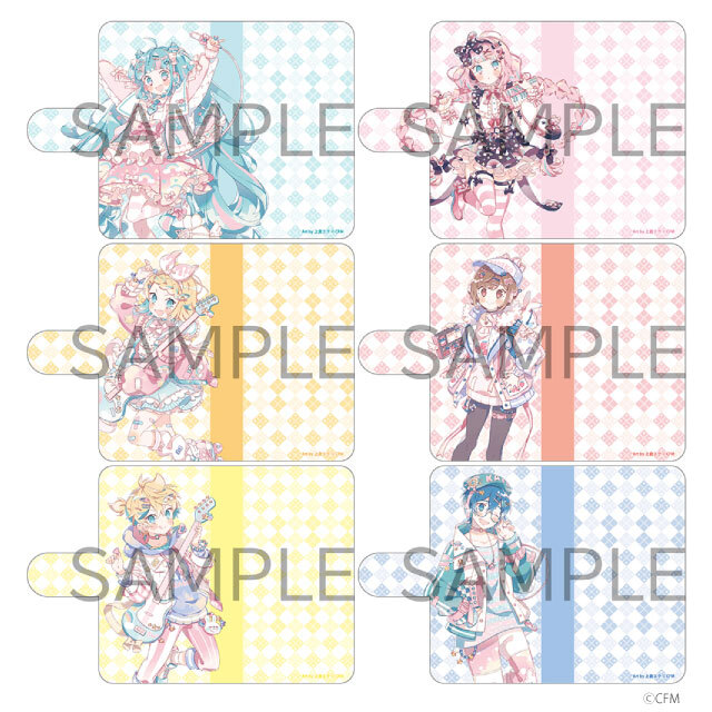 HATSUNE MIKU Digital Stars 2021 Animax Cafe+ 手帳型汎用スマホケース