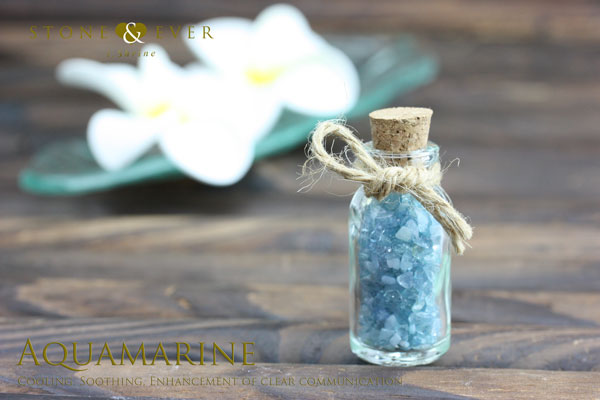 さざれ石(天然石・小粒) 『アクアマリン』