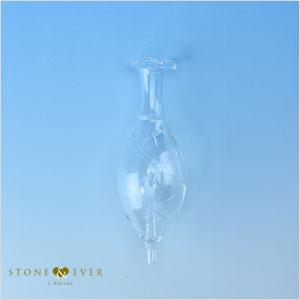 【生活の木】アロマディフューザー『エッセンシャルオイルディフューザー 交換用グラス(トライアングル)』[08-801-1040]