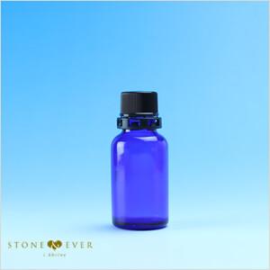 青色ガラス容器(植物油用)