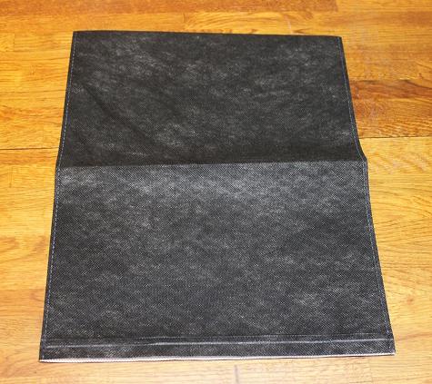粉の漏れない炭袋(不織布)