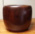 木地拭漆 銅炉火鉢