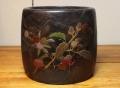 桐蒔絵火鉢