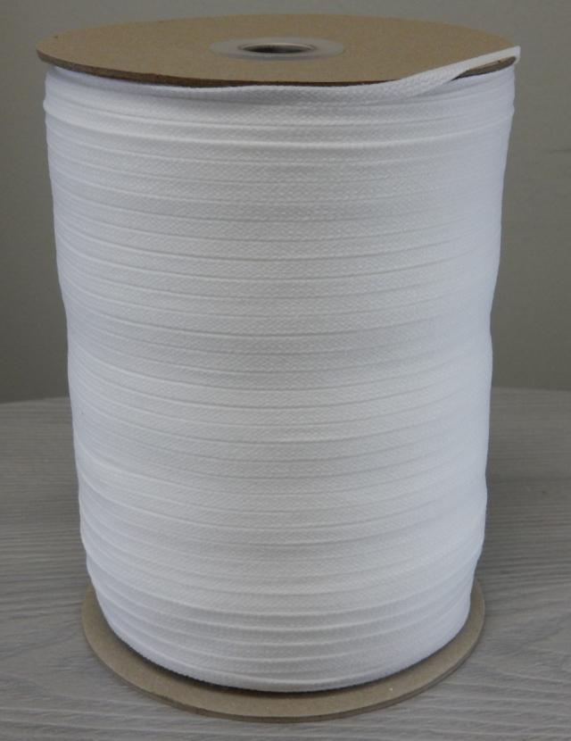 ウーリースピンテープ  ポリエステル 生成(オフホワイト) 200g 6mm幅 現品限り商品