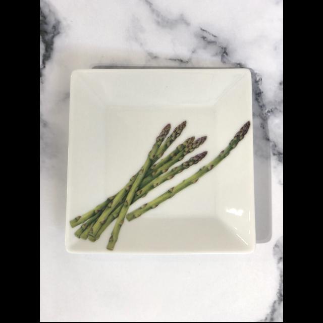 Botanical Vegetable Plate / 野菜皿|Asparagus /アスパラガス|MIS1030IB