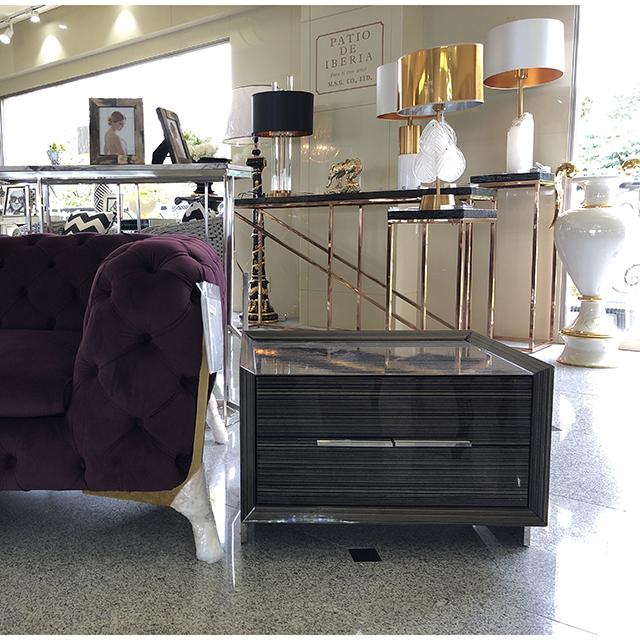 ー|Side Table/ サイドテーブル|収納付き|IB Selection|TBL0054IB