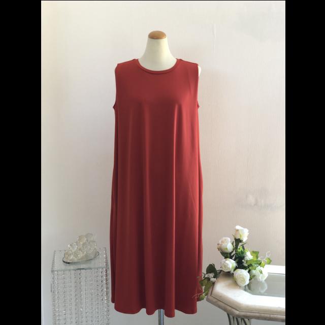 Apparel / Flare long dress /フレアロングワンピース|Red /レッド 赤色 | APP1001IB