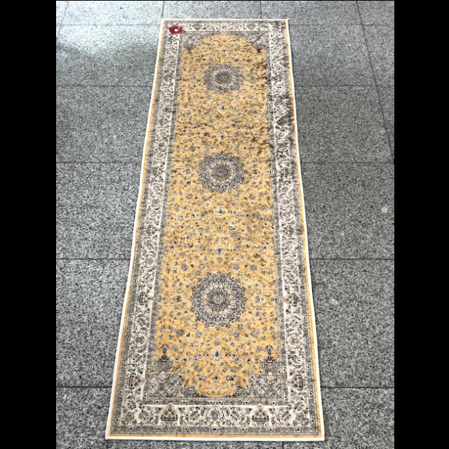 Persian carpet style Kitchen mat /ペルシャ絨毯風 キッチンマット|Yellow / イエロー 黄色|MIS1012IB