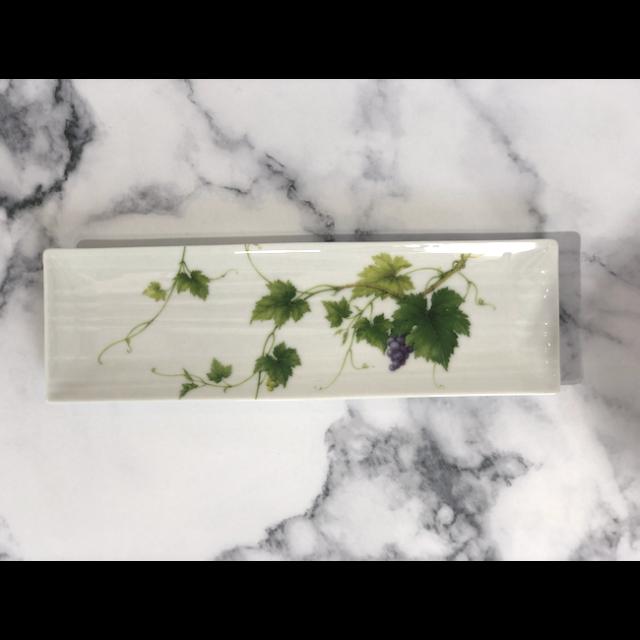 Botanical Vegetable Plate / 野菜皿|Grapes /ブドウ|MIS1029IB