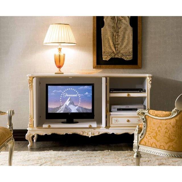 ART. 596-TV Board / テレビボード|収納式|SILIK : イタリア|TVB0012SLK