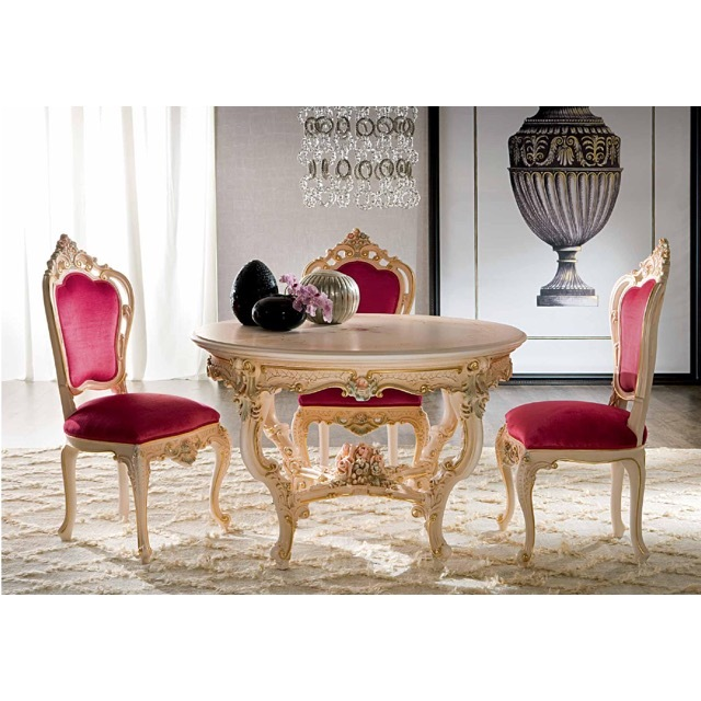 ART. 904-Dining Table/ダイニングテーブル|φ120cm|SILIK|DNG0042SLK