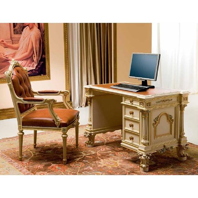 ART. 9924-Desk/デスク|ライティングデスク|113cm|SILIK:イタリア|SRE0045SLK