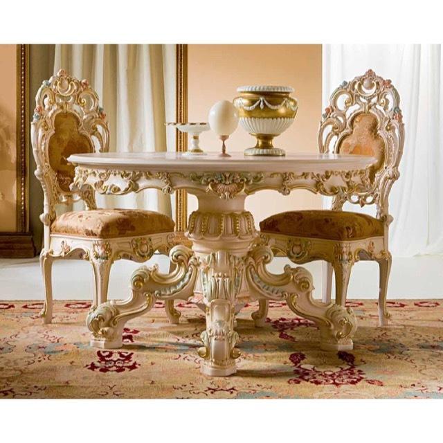 ART. 994-Dining Table/ダイニングテーブル|φ130cm|SILIK|DNG0049SLK