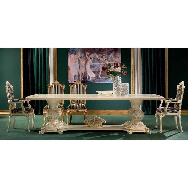 ART. 9946-Dining Table/ダイニングテーブル|300cm|SILIK|DNG0066SLK