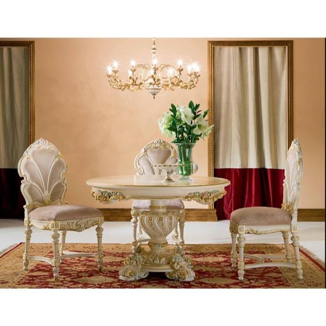 ART. 9954-Dining Table/ダイニングテーブル|φ120cm|SILIK|DNG0059SLK