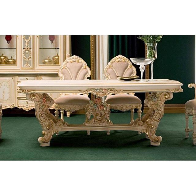 ART. 9955-Dining Table/ダイニングテーブル|218cm|SILIK|DNG0060SLK