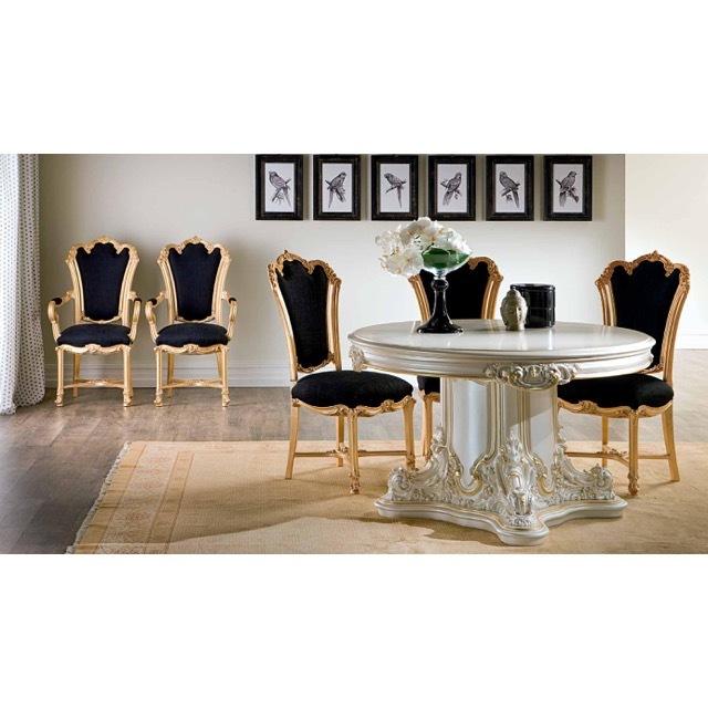ART. 9974-Dining Table/ダイニングテーブル|φ130cm|SILIK|DNG0062SLK