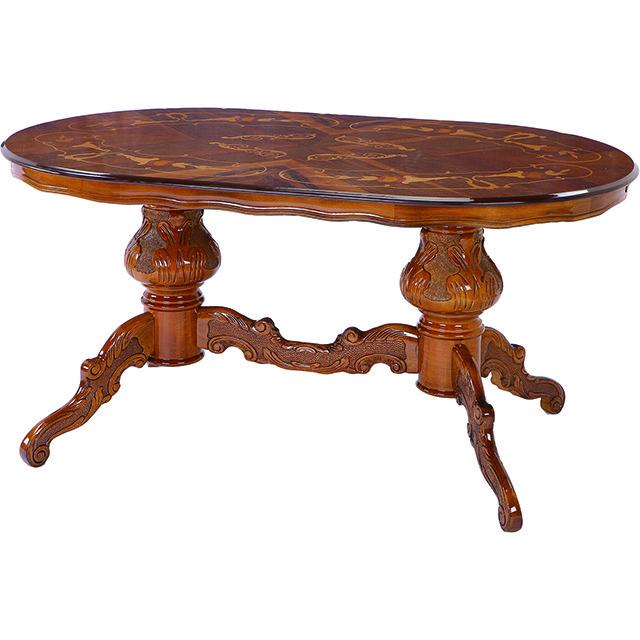 Dining Table / ダイニングテーブル|イタリア製|象嵌ダイニングテーブル|ATTICA|DNG0014ATC
