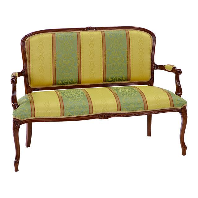 Salon Sofa / サロンソファ|ベンチ|2人掛けチェア|イタリア製|ATTICA|SF0023ATC