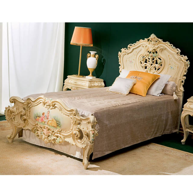 781 -  Single Bed Size /  SELENE - シングルベッド|SILIK : イタリア|BED0003SLK