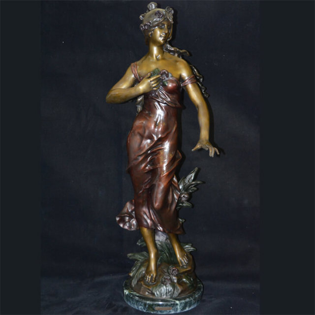 Bronze statue  / ブロンズ像 オブジェ |アメリカ|BNZ0001