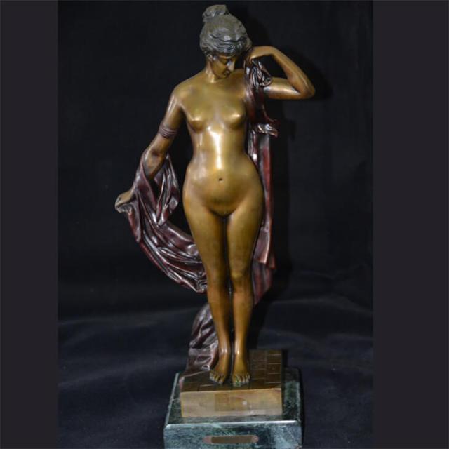 Bronze statue  / ブロンズ像 オブジェ |アメリカ|BNZ0004