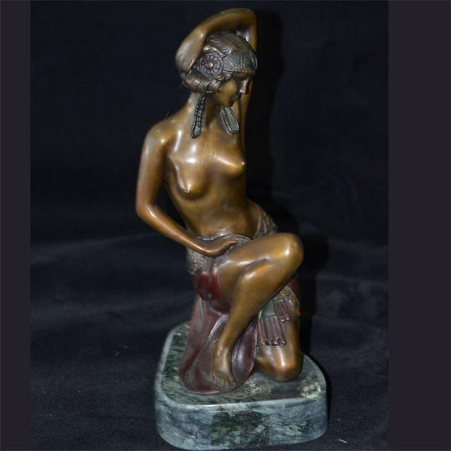 Bronze statue  / ブロンズ像 オブジェ |アメリカ|BNZ0005