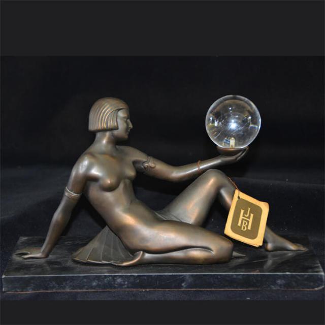 Bronze statue  / ブロンズ像 オブジェ |アメリカ|BNZ0008