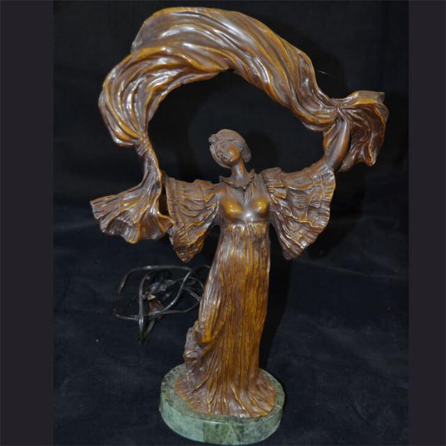 Bronze statue  / ブロンズ像 オブジェ |アメリカ|BNZ0009