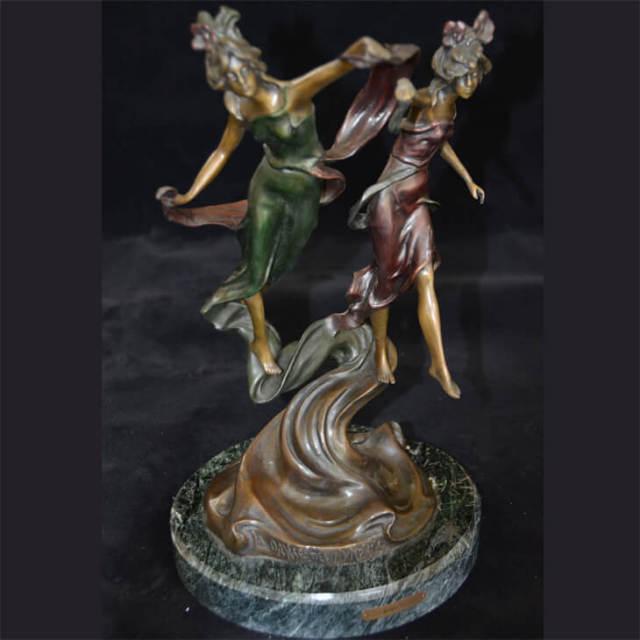 Bronze statue  / ブロンズ像 オブジェ |アメリカ|BNZ0011
